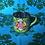 Thumbnail: Light Green Floral Enamel Kashmir Mug