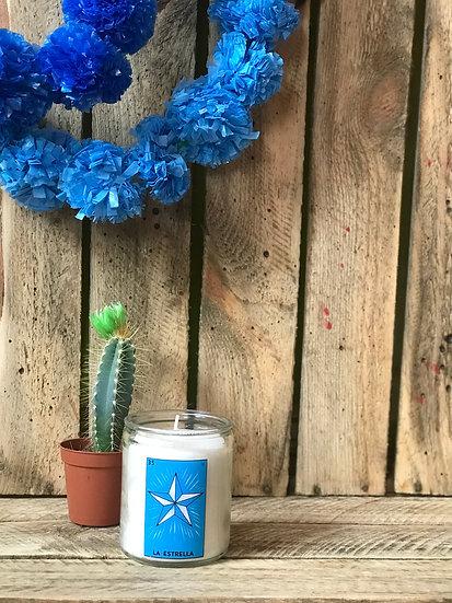 Estrella Loteria Small Candle