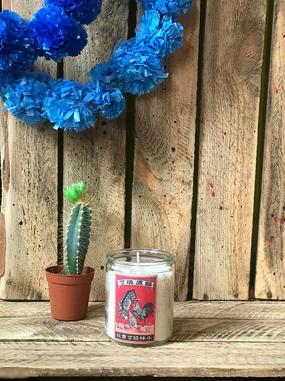 Deer Cock Match Small Candle