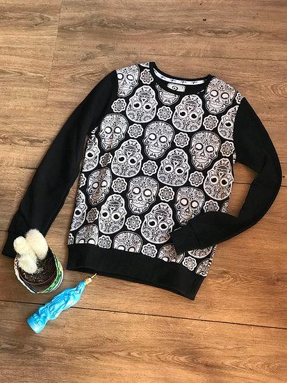 All Over Skull Sweater