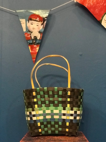 Thai Recycled Woven Basket