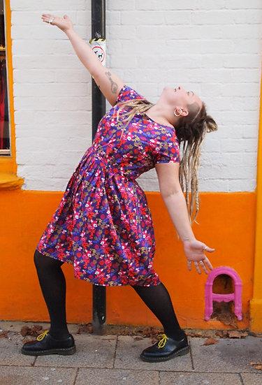 Woodland Trip Print Dress - Run & Fly