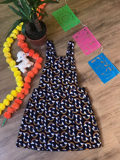 Over The Rainbow Pinafore Cord - Run & Fly