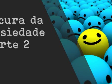 A CURA DA ANSIEDADE - parte 2