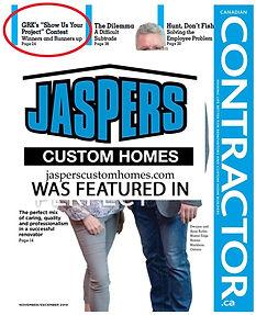 Jaspers Custom Homes_Canadian Contractor_GRK Contest