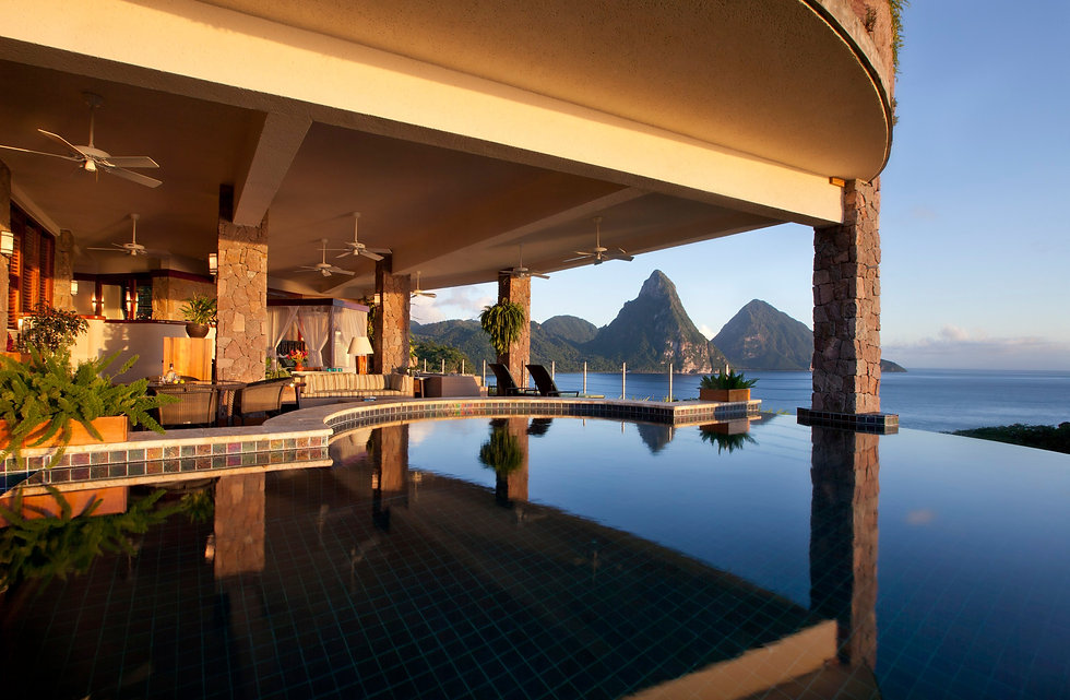 Jade Mountain, St. Lucia Canlink