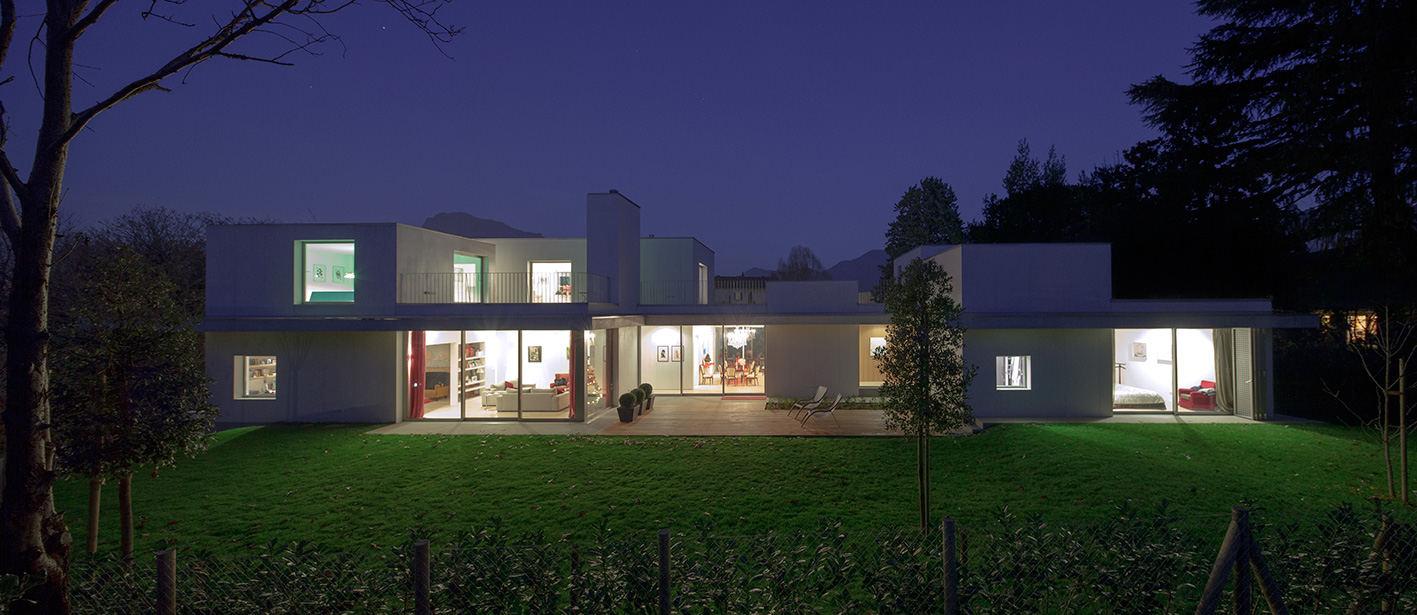 Progetto fotografico per studio IT'S. (2017) Villa unifamiliare sulle rive del Lago di Lugano