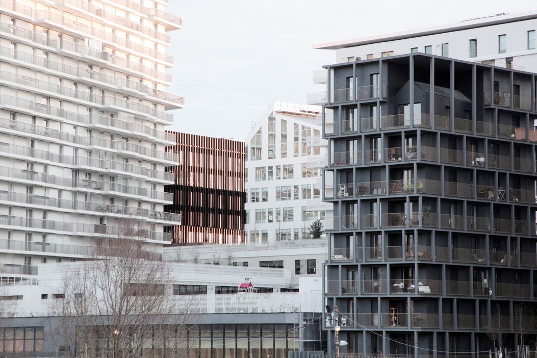 Progetto fotografico per studio IT'S. (2019) Edificio per uffici e commercio.  ZAC Clichy-Batignolles, Parigi 17ème (Francia)