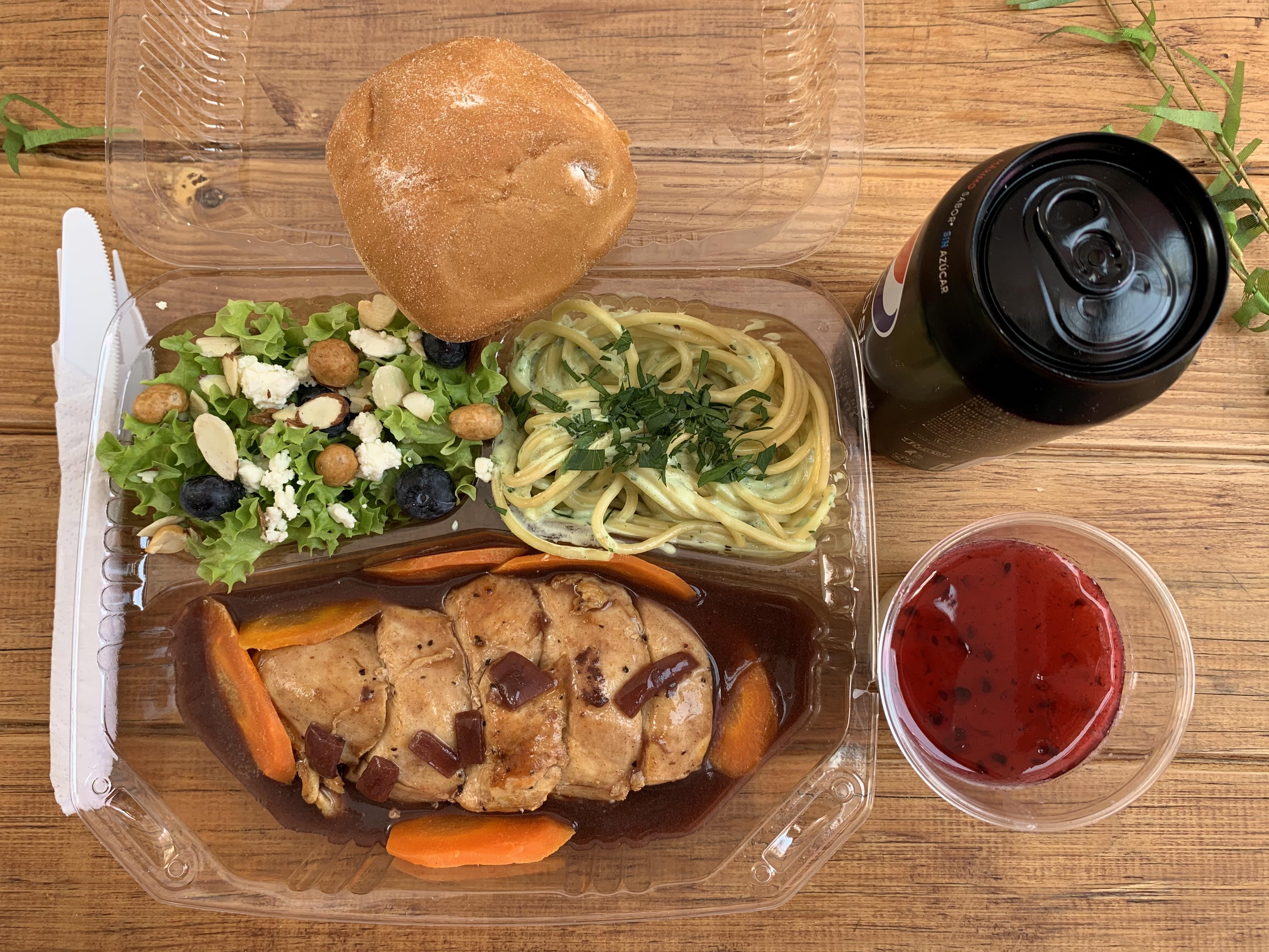 Box lunch ejecutivo