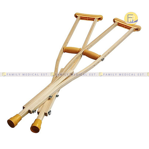 CRUTCHES AUXILLARY WOOD - PRIME