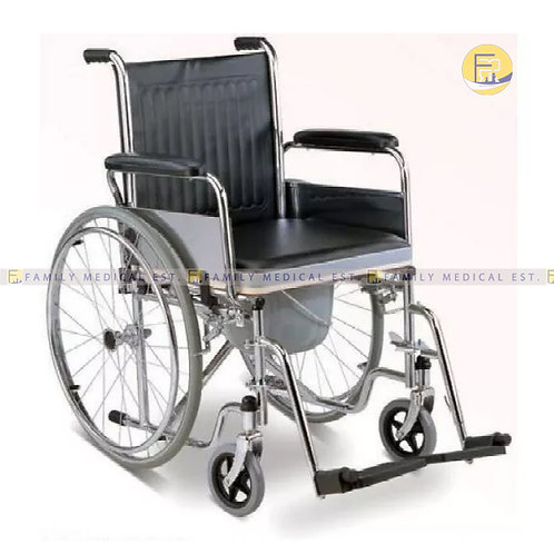 CHAIR: WHEELCHAIR + COMMODE PC609 - PRIME