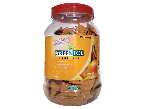 GREENTOL LOZENGES 250'S