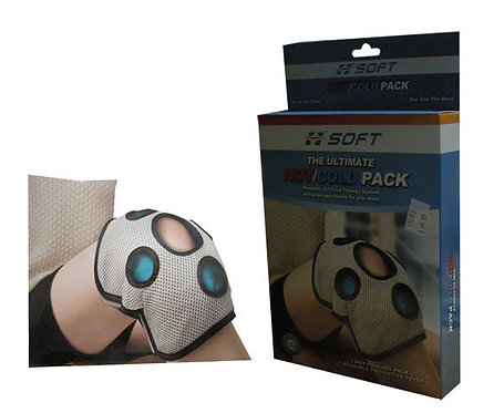 HOT COLD PACK KNEE WRAP - SOFT