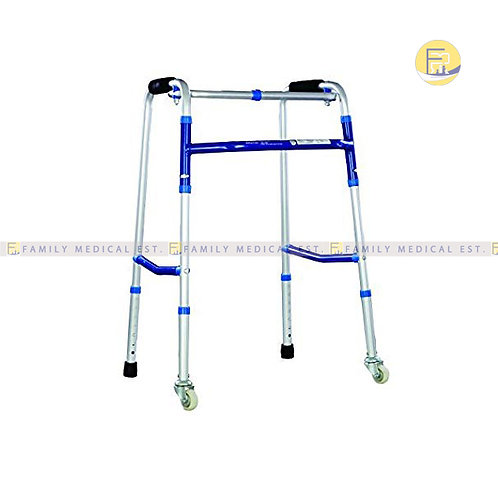 CRUTCHES WALKER-WITH WHEELS - DYNA