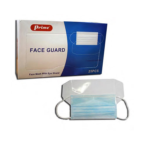 FACE MASK WITH EYE GUARD -PRIME