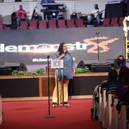 Tasha Cobbs Leonard at demonstr8