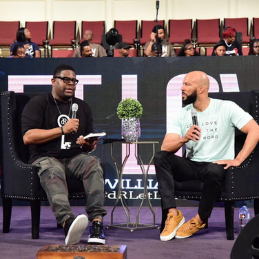 Bishop William Murphy and Common - God Is Love Tour