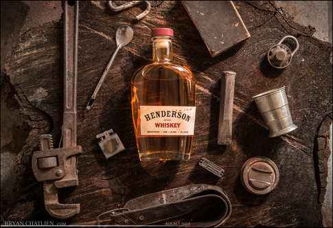 Styled Product Shots with Henderson Whisky