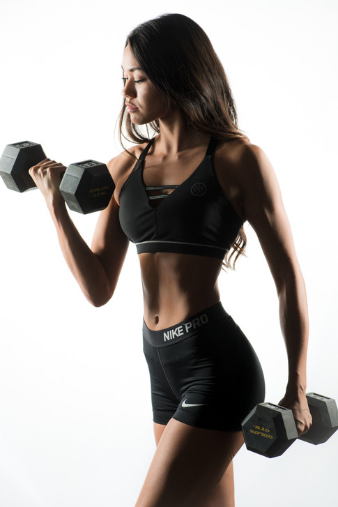 Kayla Pele Fitness Model