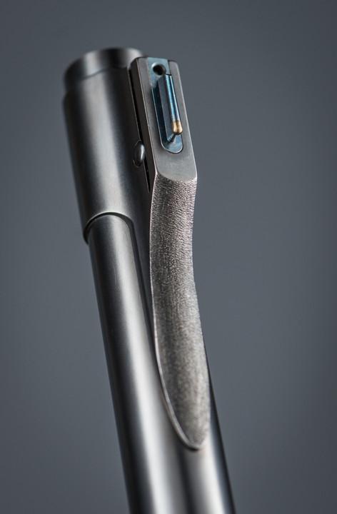 Custom Rifle Metalwork Photography