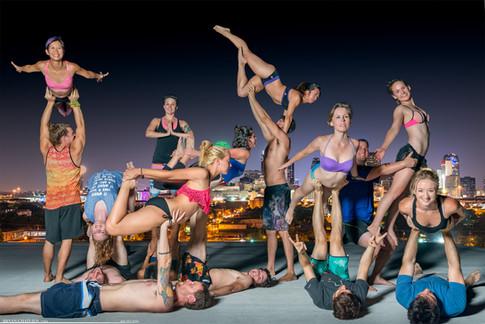 Acro Yoga Shenanigans