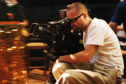 Pure - Director Jim Donovan on the set of Pure 2003