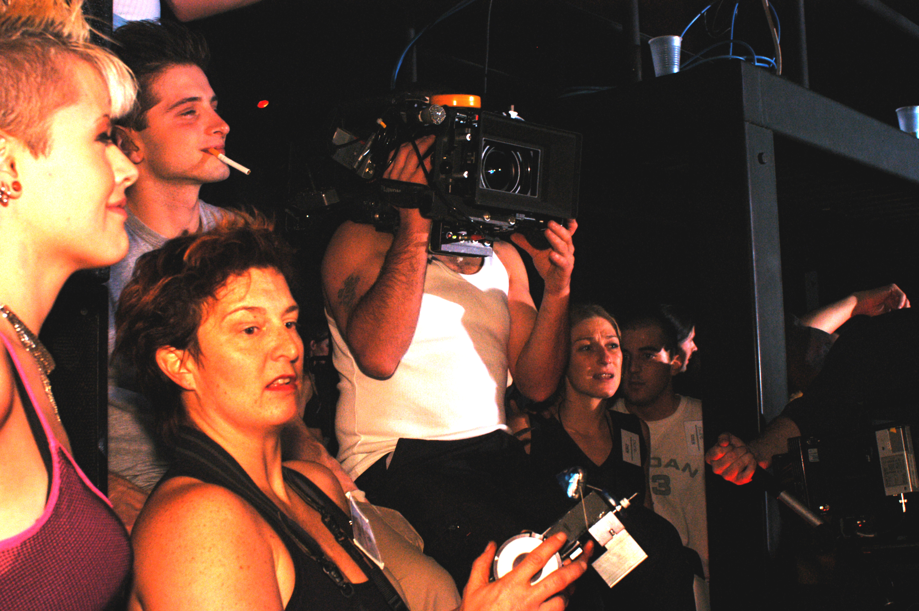 Pure - Actors Gianpaolo Venuta and Karen Simpson and cinematographer Jean-Pierre Gauthier 2003
