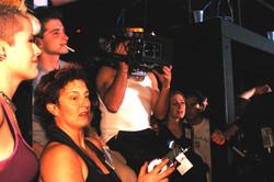 Pure - Actors Gianpaolo Venuta and Karen Simpson and cinematographer Jean-Pierre Gauthier 2003
