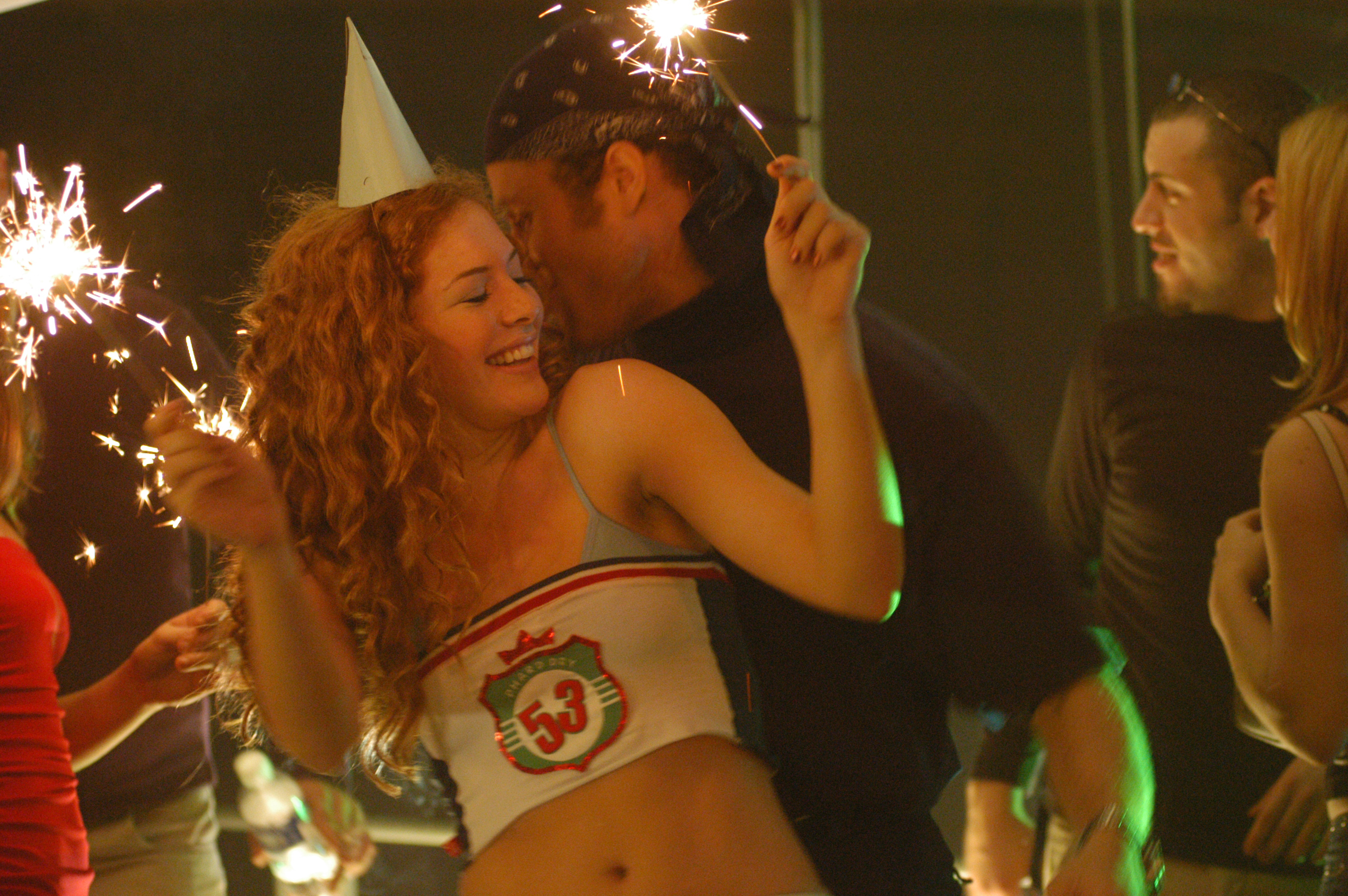 Pure - Actress Rachel Lefevre on the set 2003