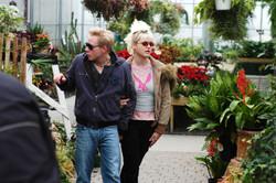 Pure - Actors Robert Crooks and Karen Simpson on set 2003-1