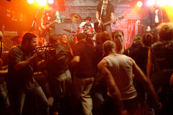 """3 Seasons - Punk performance with band """"Rockets Away"""" Montreal Foufounes Electriques 2008"""
