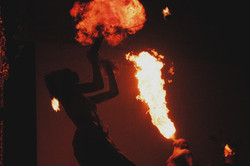 Pure - Firedancer performing on the set of Pure 2003