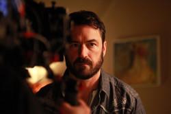 Le Clan - Shooting, Season 1 with actor Sébastien Ricard 2014