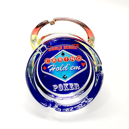 Glass Ashtray (World Series Poker)