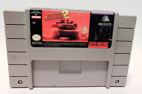 (Used) Super Battle Tank 2 [Super Nintendo/SNES] Cleaned & Tested