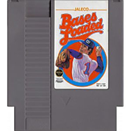 (Used) Bases Loaded [Original NES/Nintendo] Game Cartridge - Cleaned & Tested