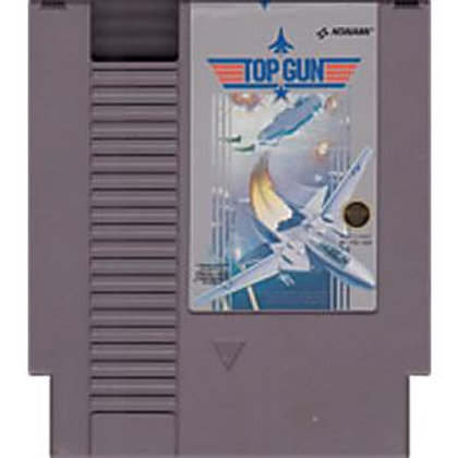 (Used) Top Gun Original [NES/Nintendo] Game Cartridge - Cleaned & Tested
