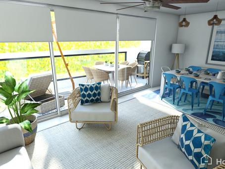 Ideas para decorar tu casa con vista al mar