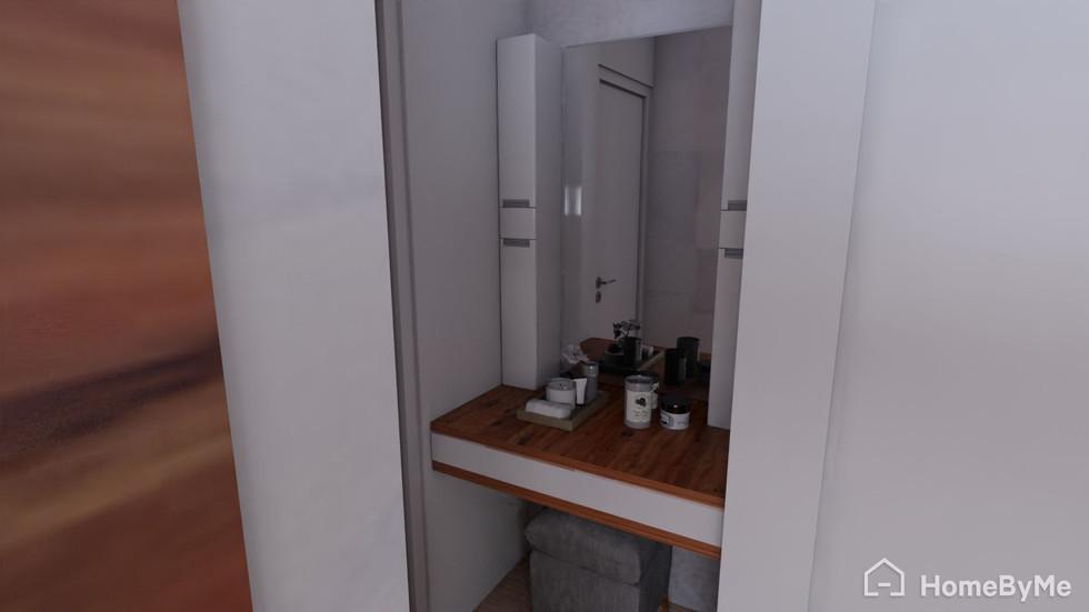 Peinador dormitorio principal