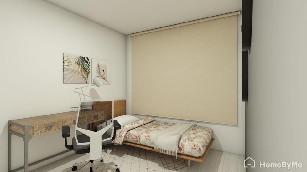 Dormitorio visita