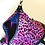 Thumbnail: Pink leopard medium sided backpack