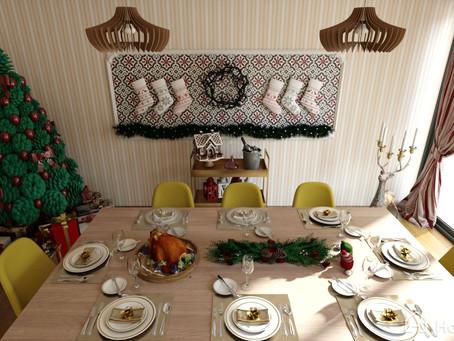 Ideas para tu comedor navideño