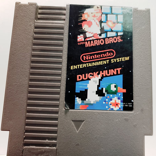 (Used) Super Mario Bros/Duck Hunt [NES] Game Cartridge - Cleaned & Tested