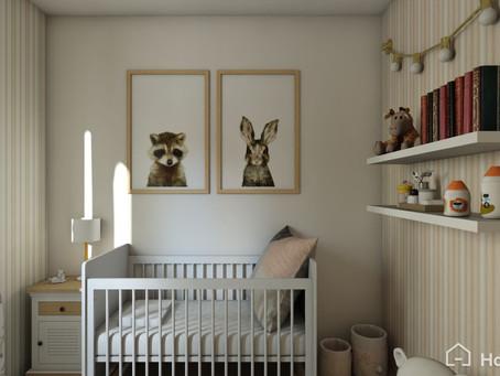 Créa una habitación única para tu bebe
