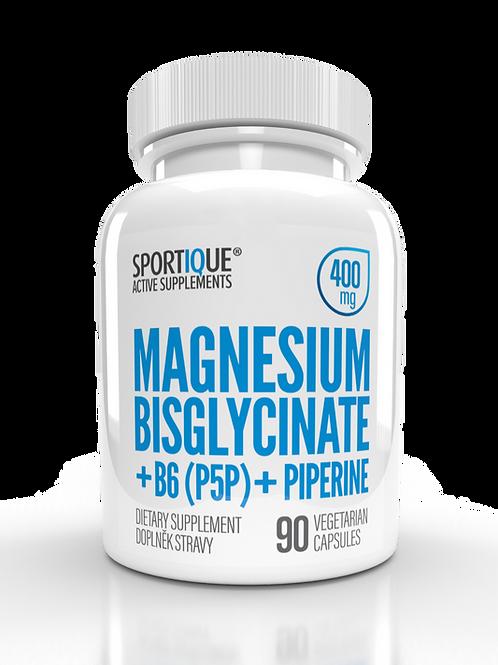 400mg Magnesium Bisglycinate + B6 + Piperine