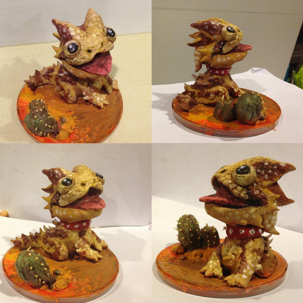 Spikey Clay Sculpt
