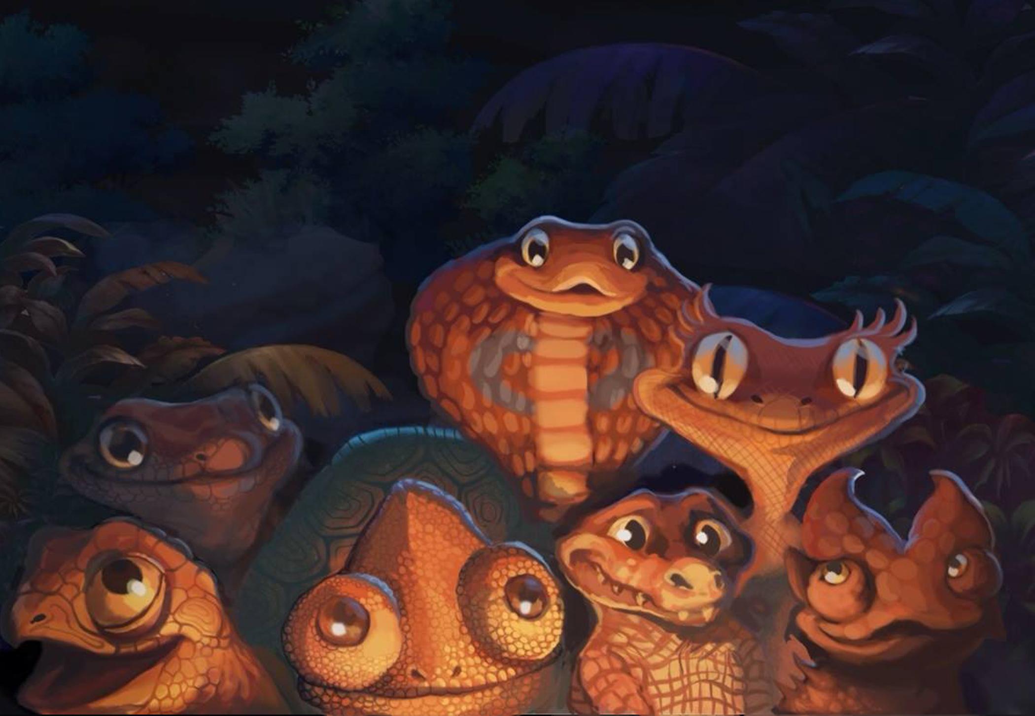Reptilian Scouts
