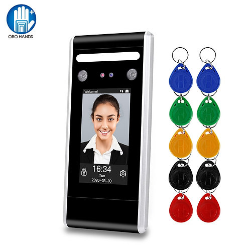 Facial and Tag recognition Digital Clock -in/Attendance Register. Many features
