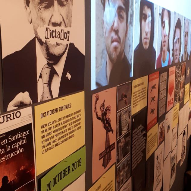 Exposición: Situación en Chile. Zürich.