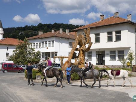 Разходка с коне в Могилица